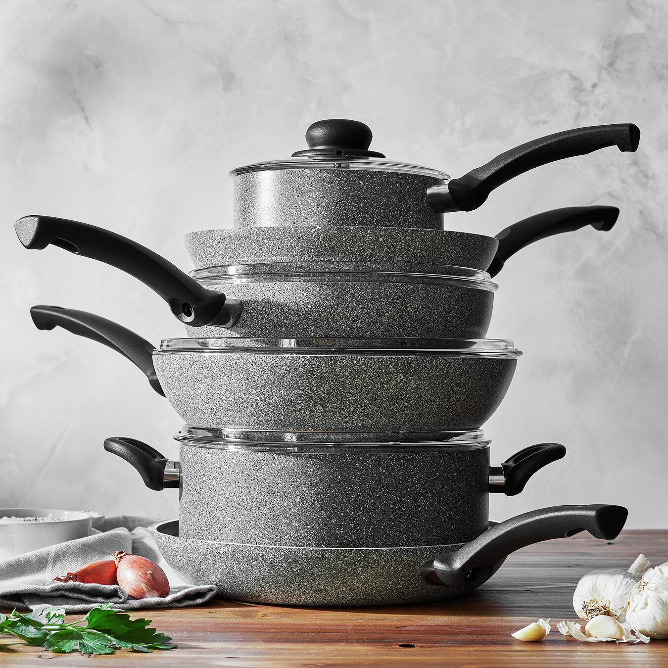 10 Piece Aluminium Cookware set,,large 9