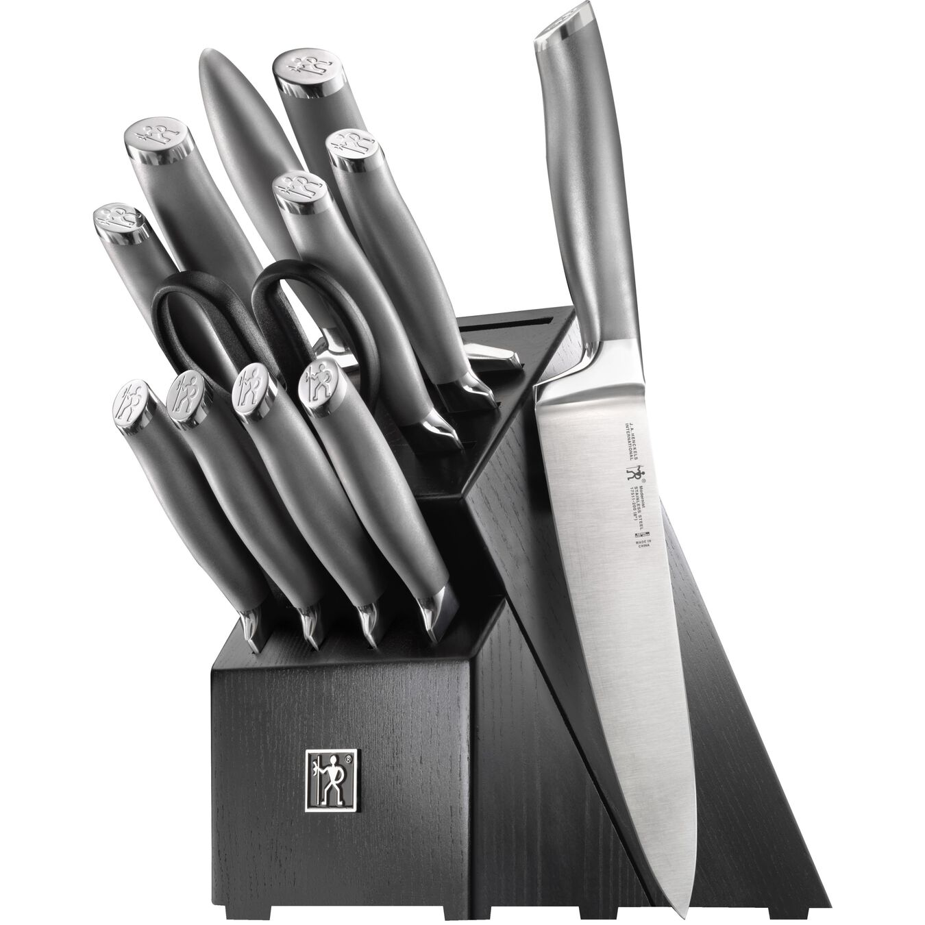 13-pc Knife Block Set,,large 1