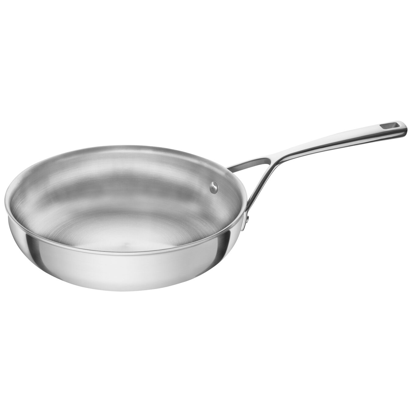 Stainless Steel 9.5-inch Fry Pan,,large 1