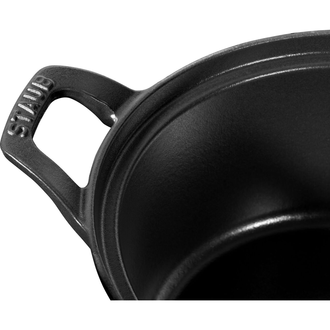 2.5 l round La Coquette, black,,large 2