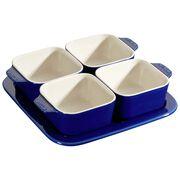 Staub Ceramique, 5-pcs Appetiser set