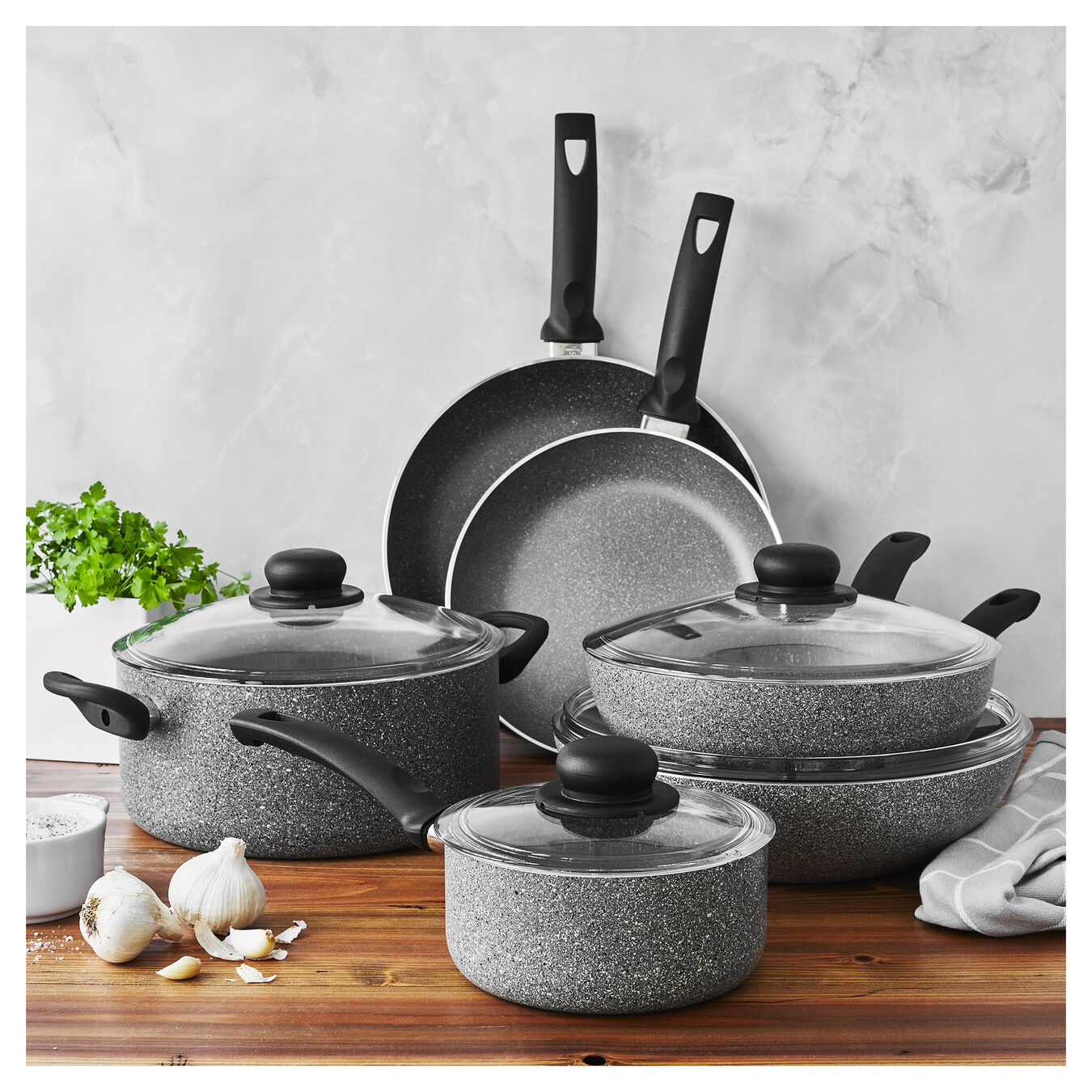 10 Piece 10 Piece Cookware set,,large 8