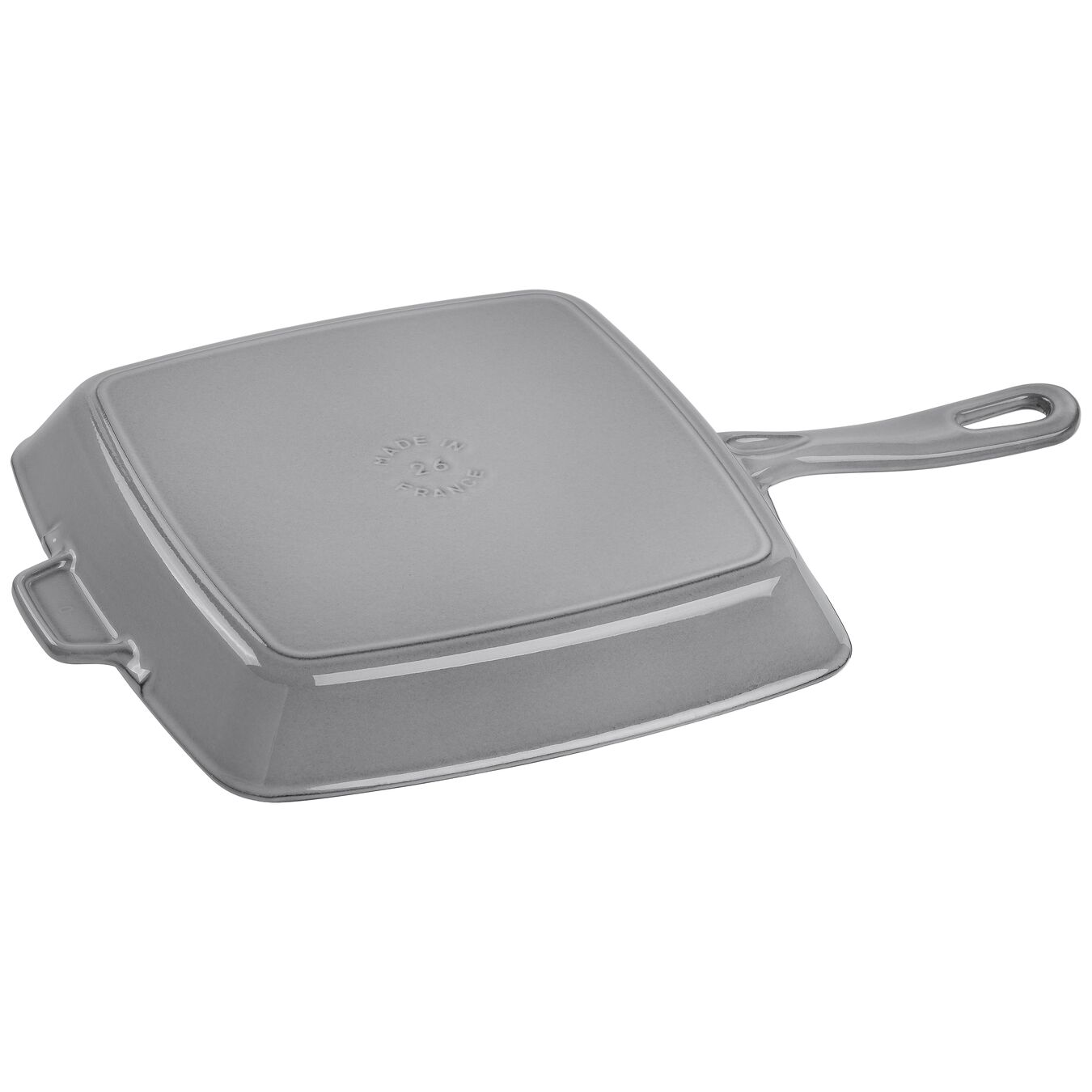 American Grill 26 cm, Gusseisen, Graphit-Grau,,large 2