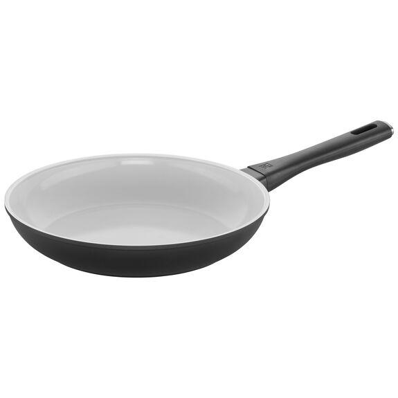 11-inch Ceramic Nonstick Fry Pan, White, , large