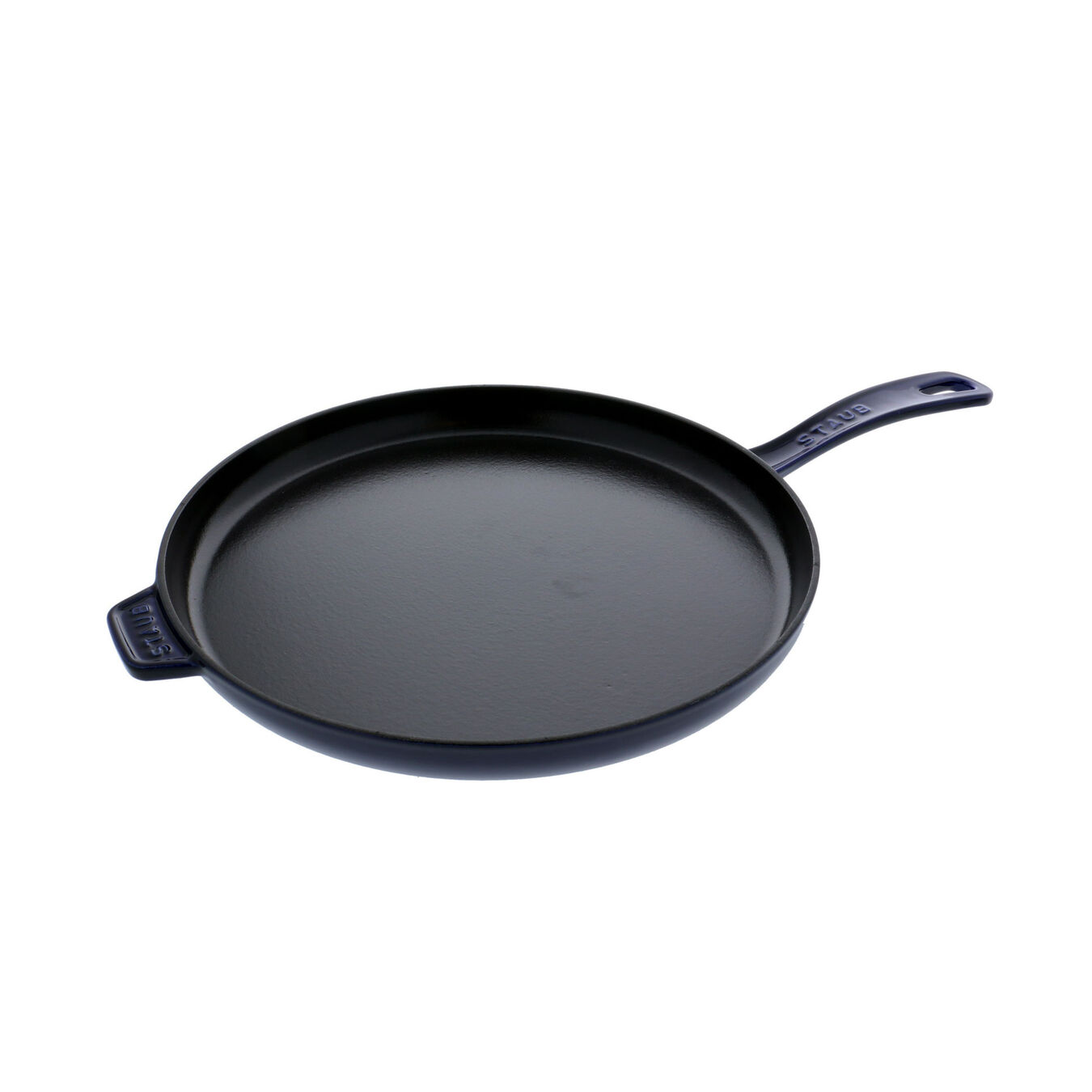 12-inch Round Breakfast Pan - Visual Imperfections - Dark Blue,,large 1