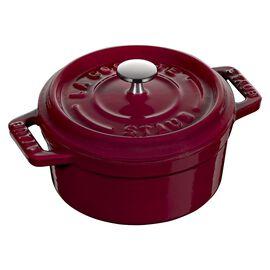 Staub La Cocotte, 250 ml Cast iron round Mini Cocotte, Bordeaux