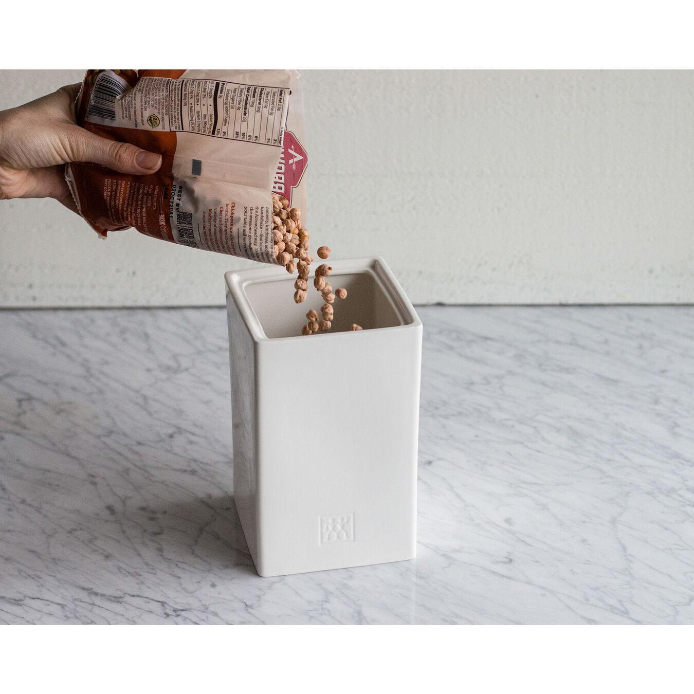 1.5 qt, ceramic, Large Box with knife lid  ,,large 2