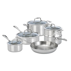 ZWILLING Vista Clad, 10 Piece 18/10 Stainless Steel Cookware set