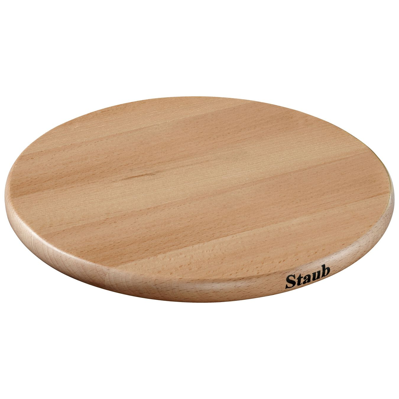 6-inch Round Magnetic Wood Trivet,,large 1