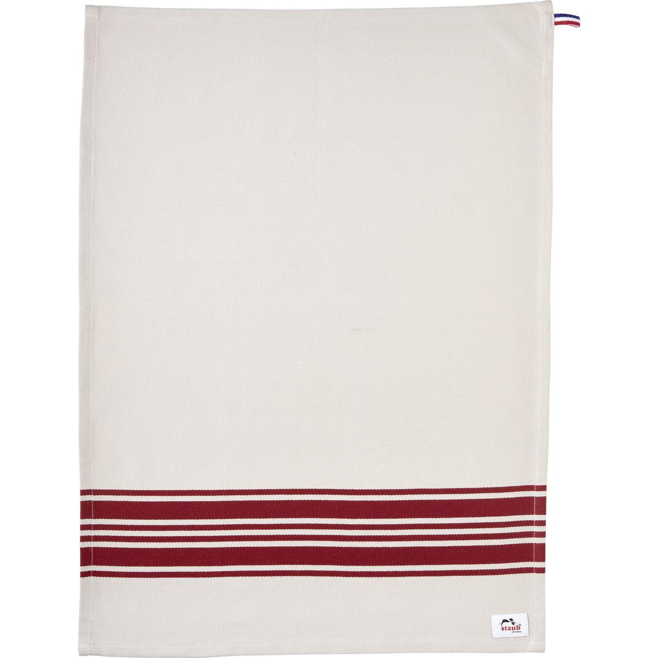70 cm x 50 cm Cotton Kitchen towel, Cherry,,large 6
