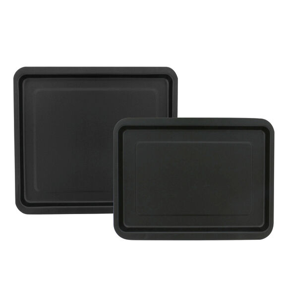 2-pc Nonstick 2-pc Jelly Roll Pan Set, , large