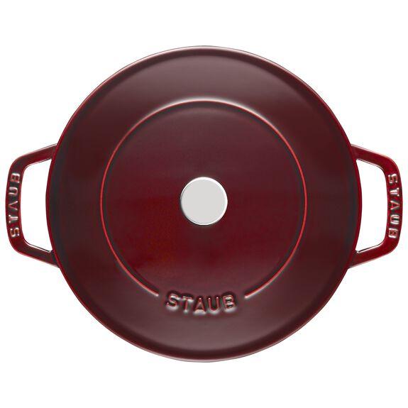 24-cm-/-9.5-inch Enamel Saute pan Chistera,,large 2