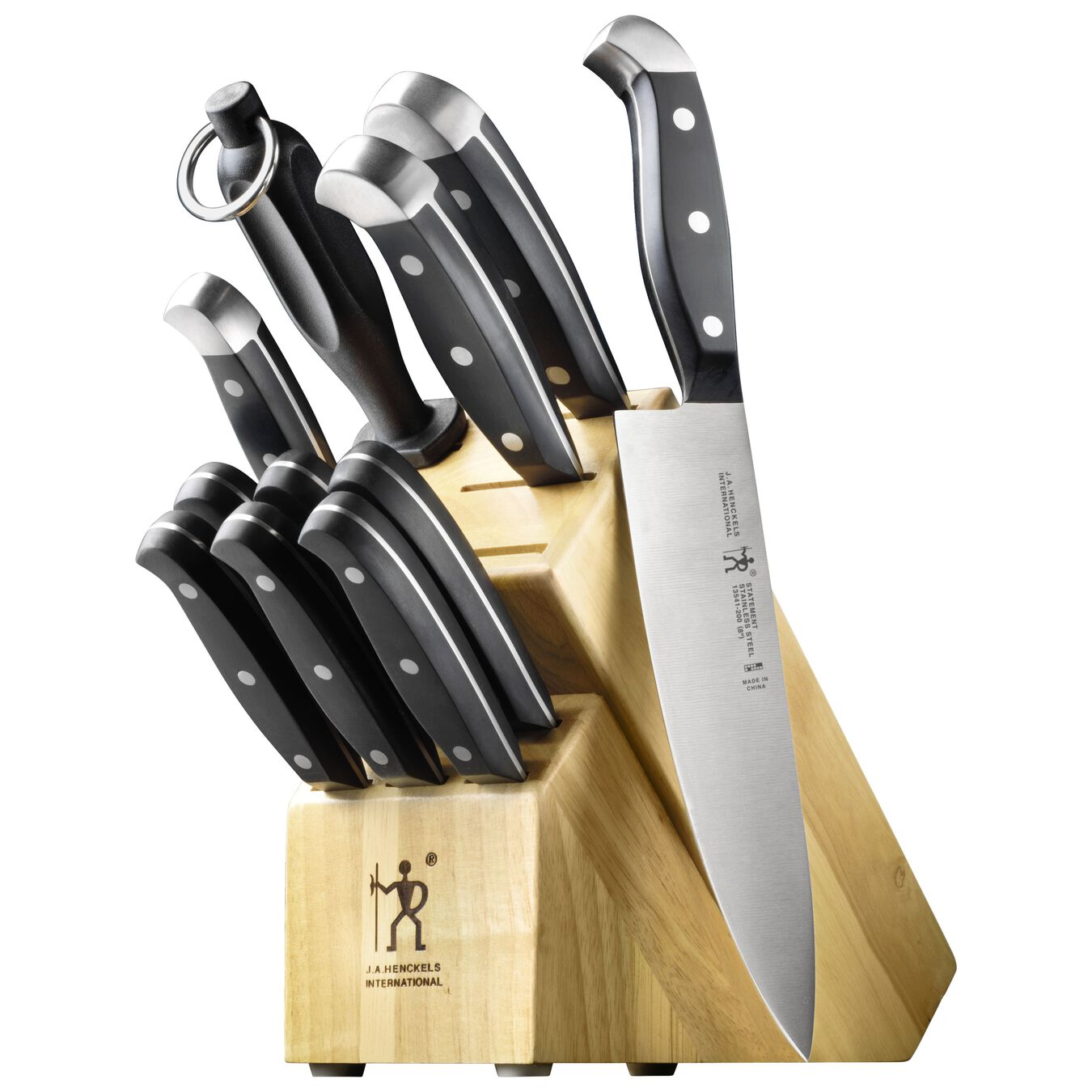 12-pc Knife Block Set,,large 1