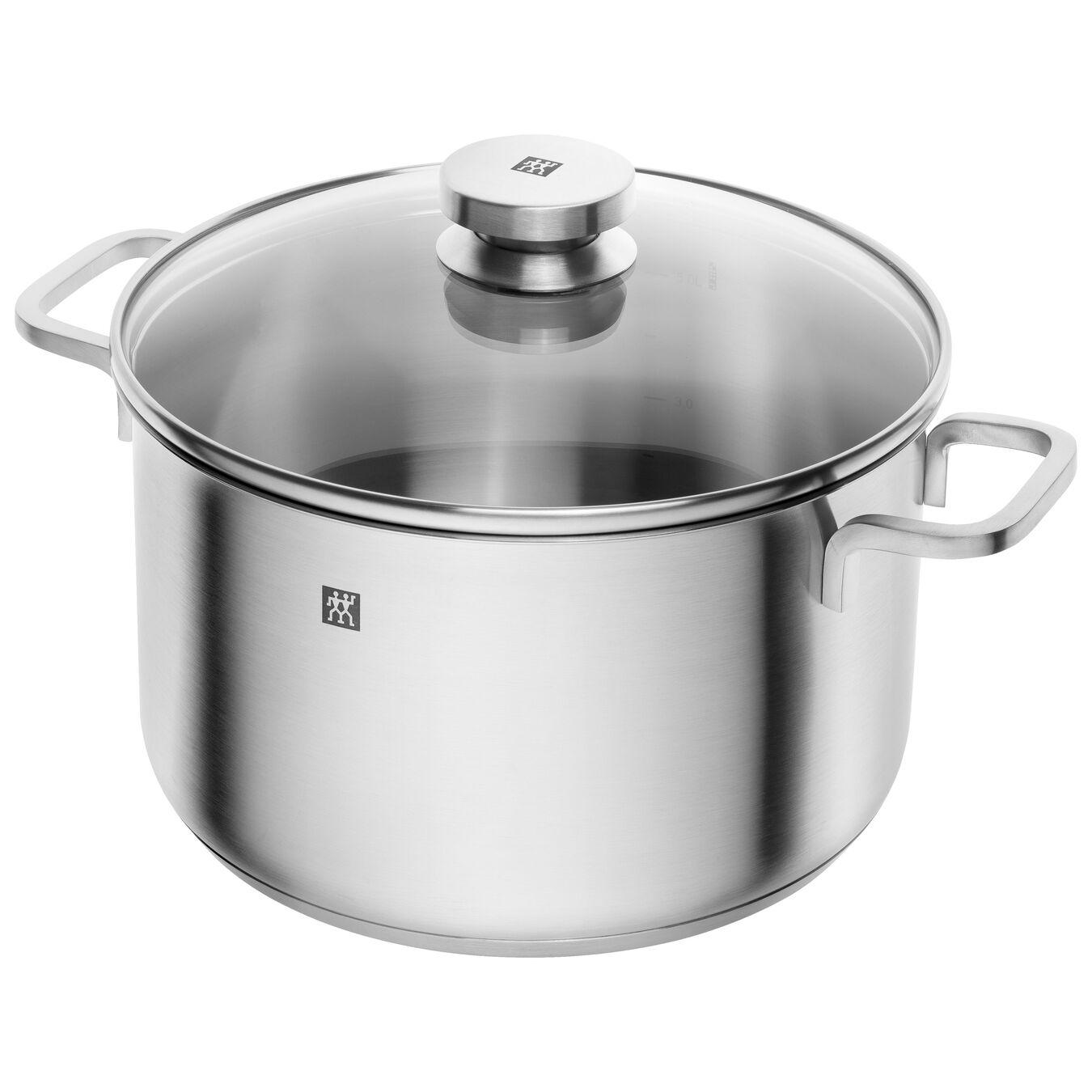 Ensemble de casseroles 5-pcs, Inox 18/10,,large 5