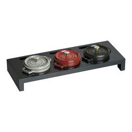 Staub Specialities, 42 cm x 16 cm fibre wood Stand, black