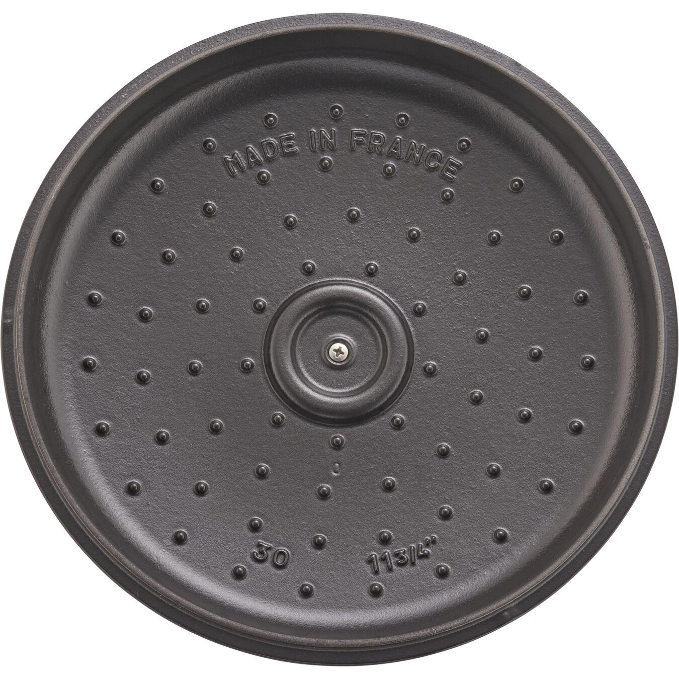 3,5 l Cast iron round Braisière, Grenadine-Red,,large 5