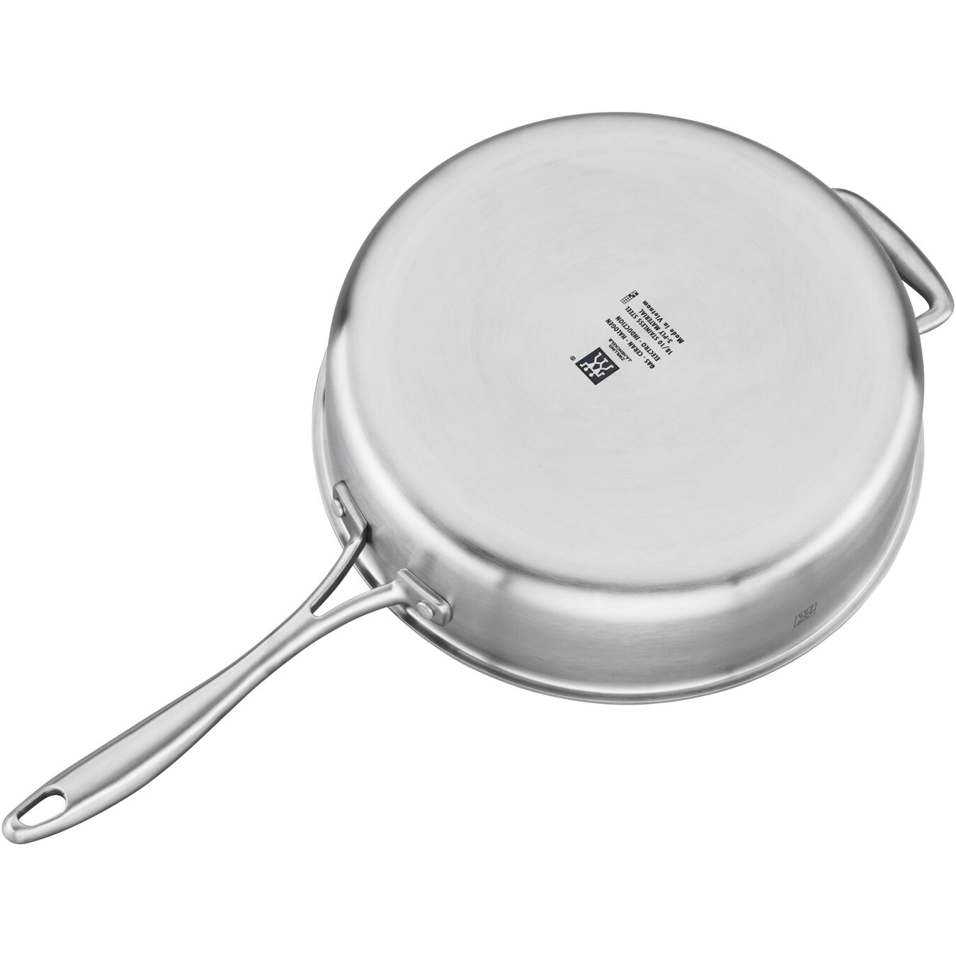 11-inch, stainless steel, Saute pan,,large 4