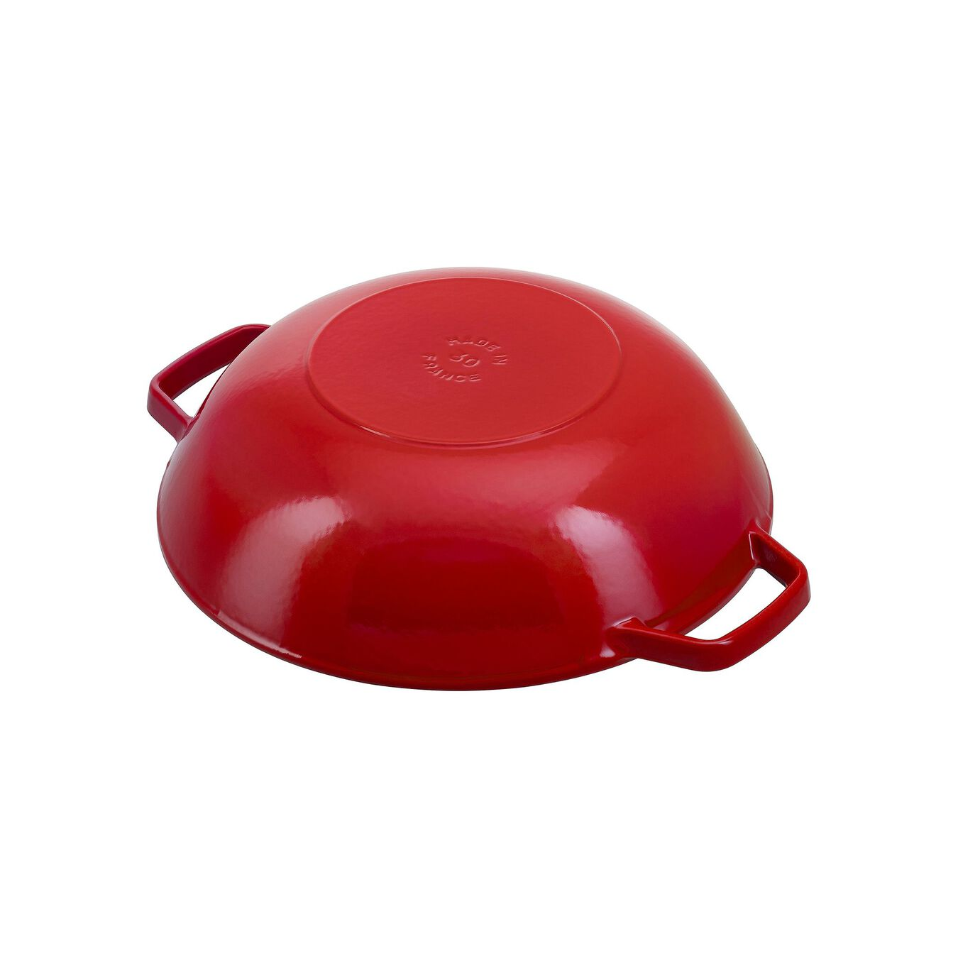 30 cm / 12 inch Wok with glass lid, cherry,,large 4