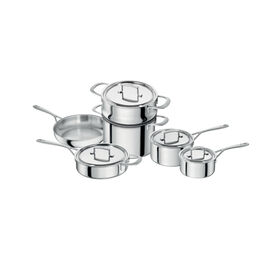 ZWILLING Sensation, 10 Piece 18/10 Stainless Steel Cookware set