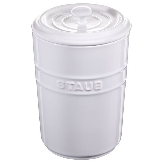 1,5-l-/-51-floz Ceramic Storage pot,,large