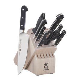 ZWILLING Pro, 10-pc Knife Block Set - White