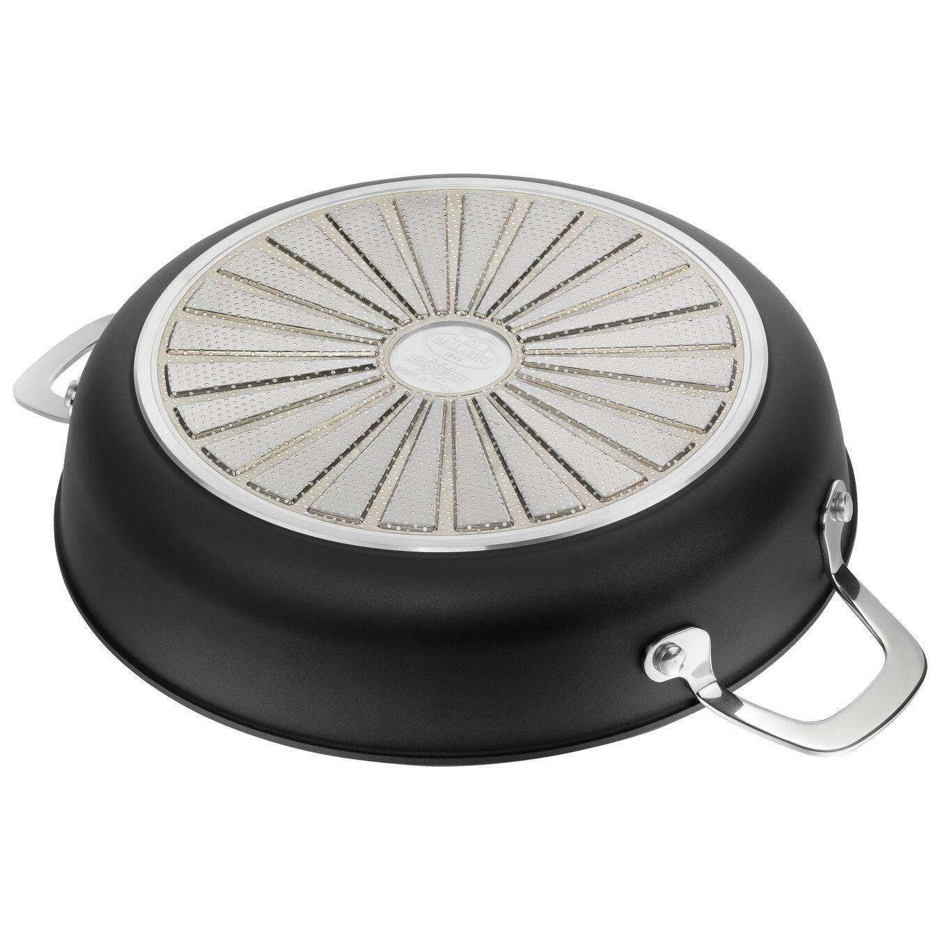 round Saucier and sauteuse, black,,large 4