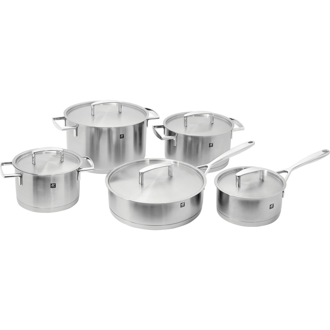 10 Piece 18/10 Stainless Steel Cookware set,,large 1