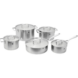 ZWILLING Passion, 10-pcs 18/10 Stainless Steel Pots and pans set