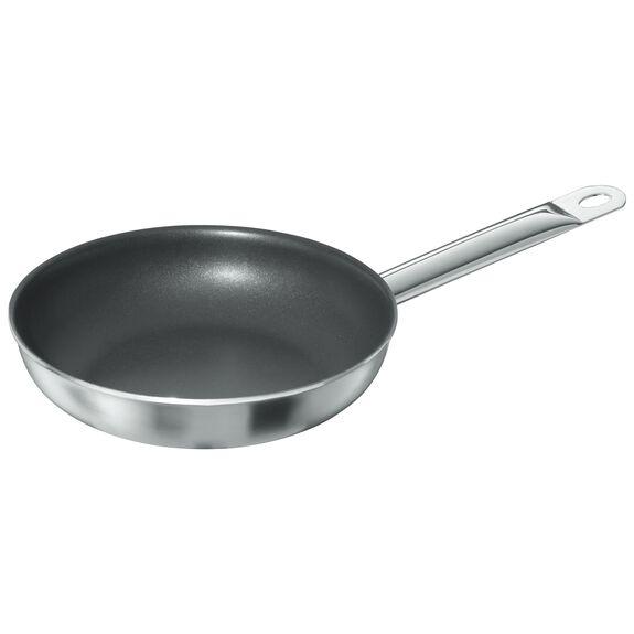 Kızartma Tavası, 21 cm | PTFE | Gümüş-Siyah | Yuvarlak,,large