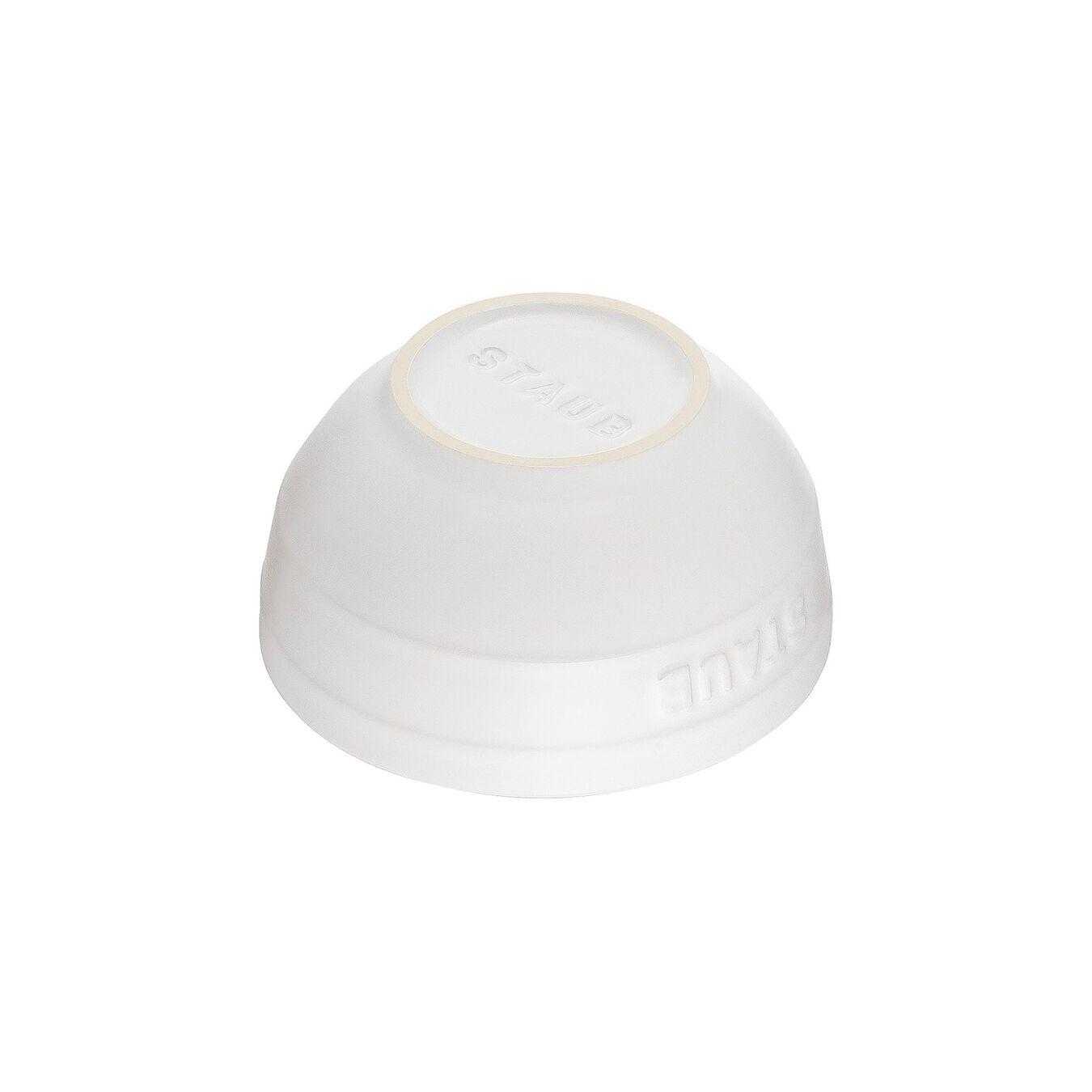 Ciotola rotonda - 12 cm, Colore bianco puro,,large 2