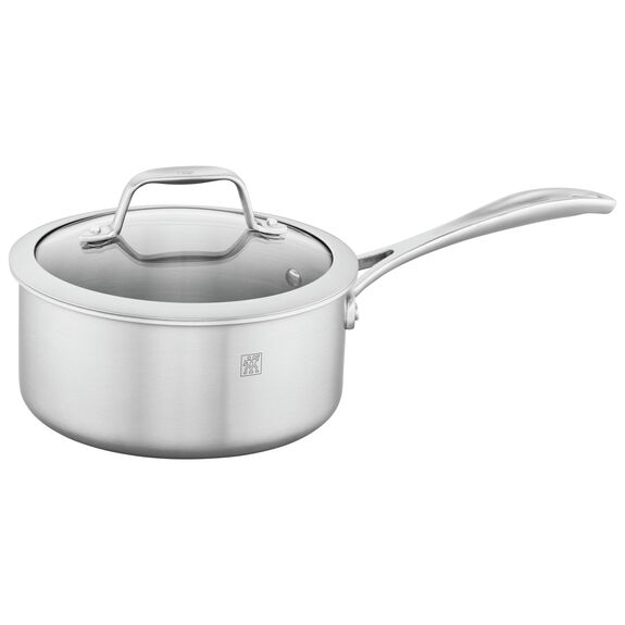 2-qt 18/10 Stainless Steel Sauce pan,,large 2