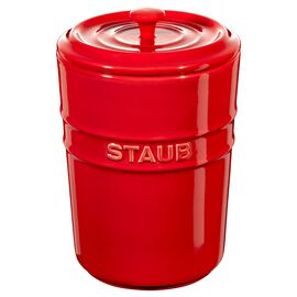 Staub Ceramique, Opbevaringskrukker 1 l, Stentøj