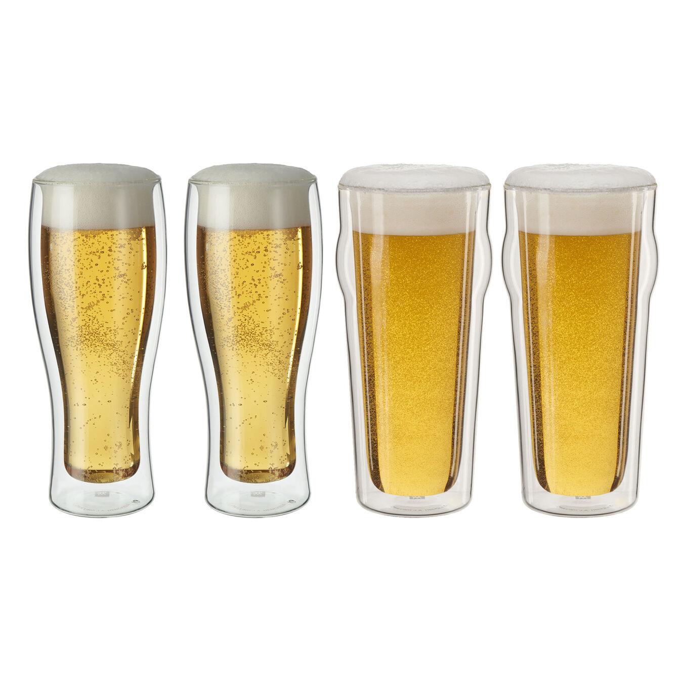 4 Piece Beer glass set,,large 1