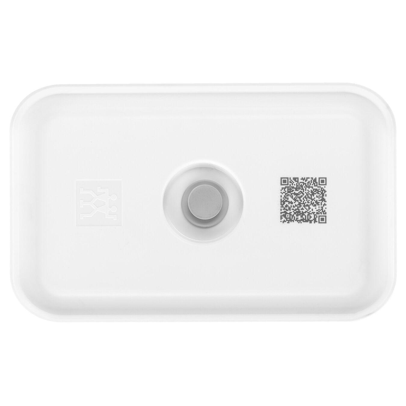 Vacuum lunch box, medium, Plastic, White,,large 3