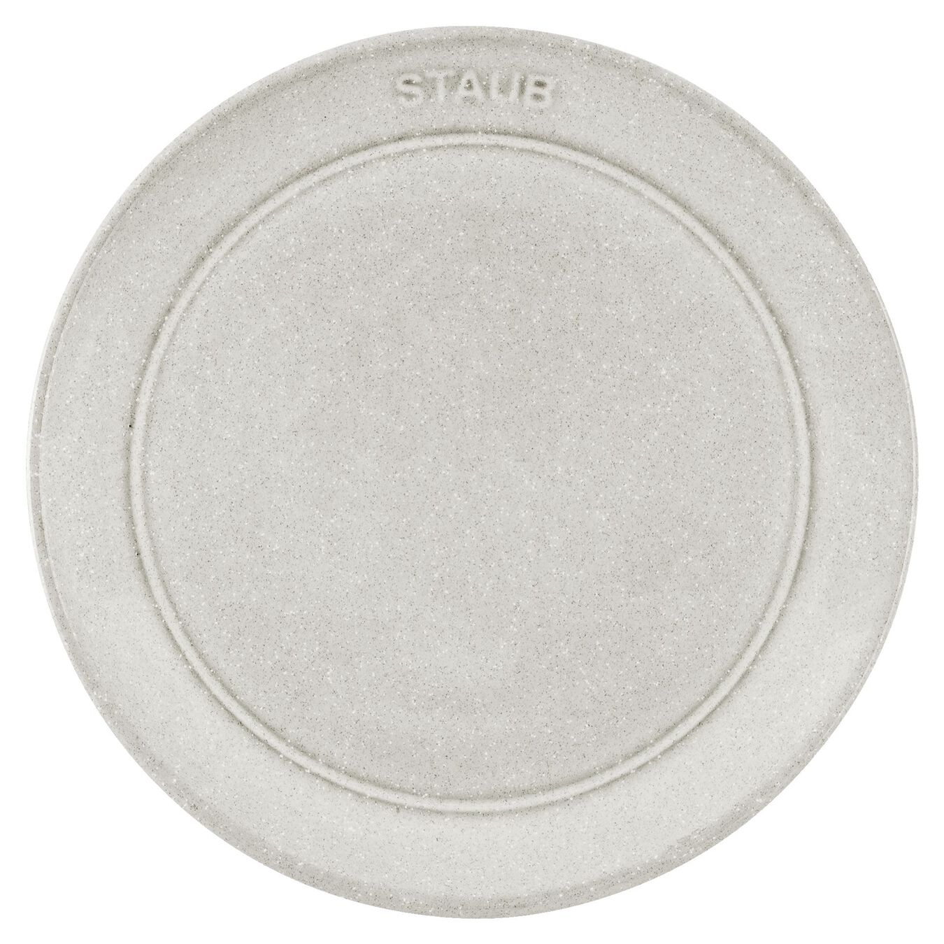 Piatto piano rotondo - 15 cm, tartufo bianco,,large 2