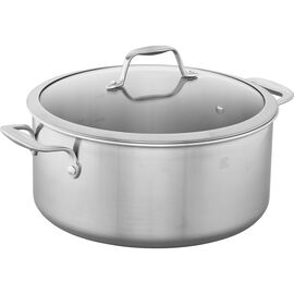 ZWILLING Spirit Stainless, 3-ply 8-qt Stainless Steel Stock Pot