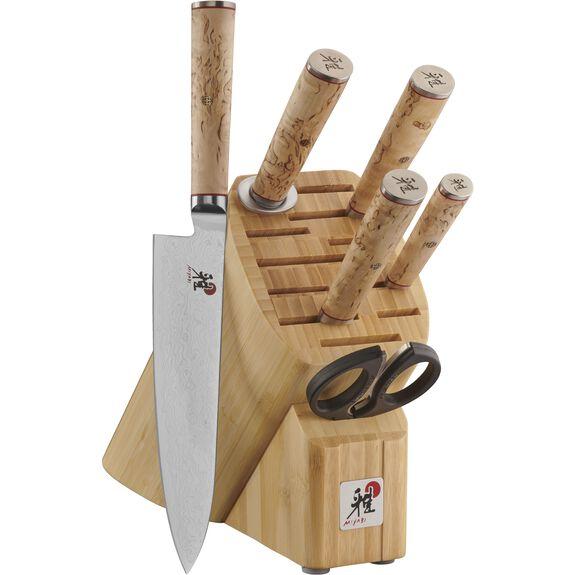 7-pc Knife block set ,,large 2