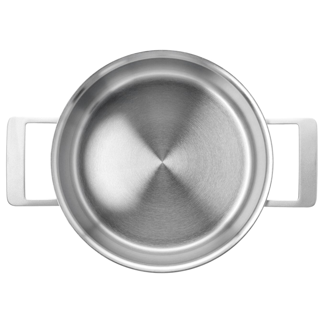 5.5 qt, 18/10 Stainless Steel, Stew pot with lid,,large 3