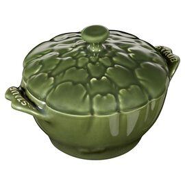 Staub CERAMIQUE, Ceramic Cocotte | Fesleğen | 13 cm | 450 ml | Enginar