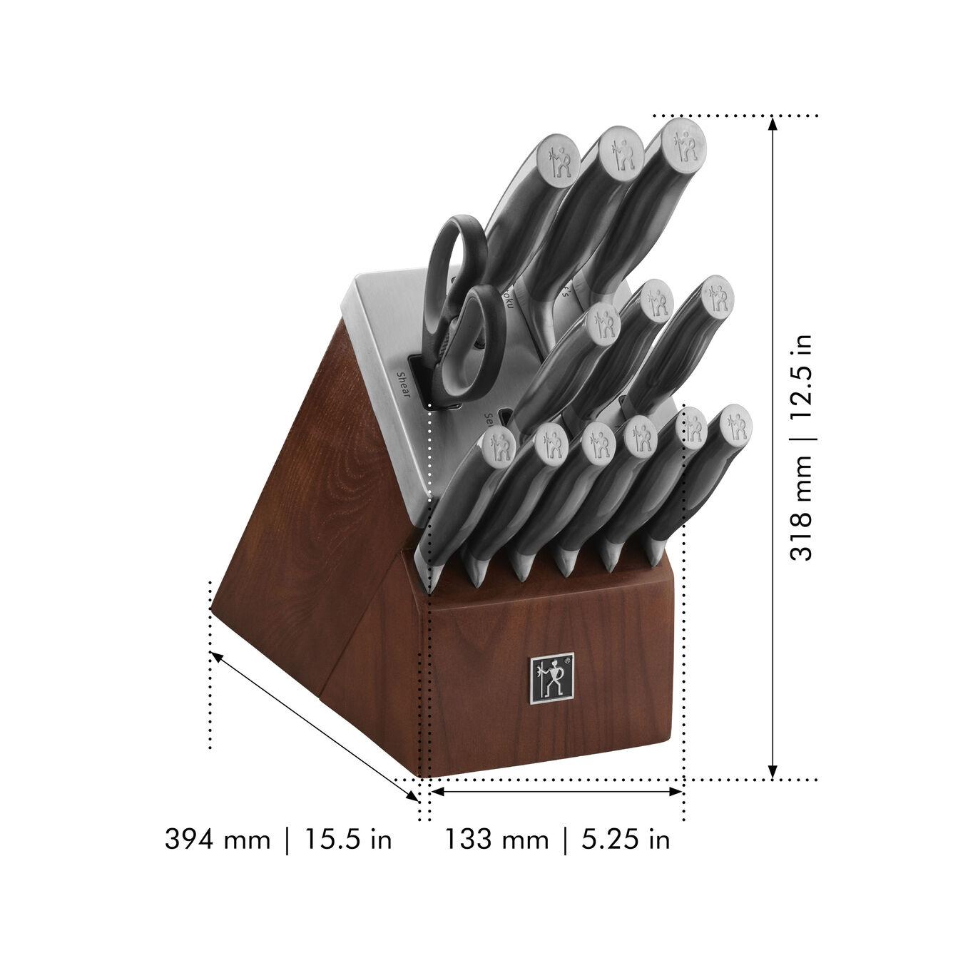 14-pc, Self-Sharpening Knife Block Set,,large 2