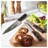 7-pc, Knife block set, black matte,,large
