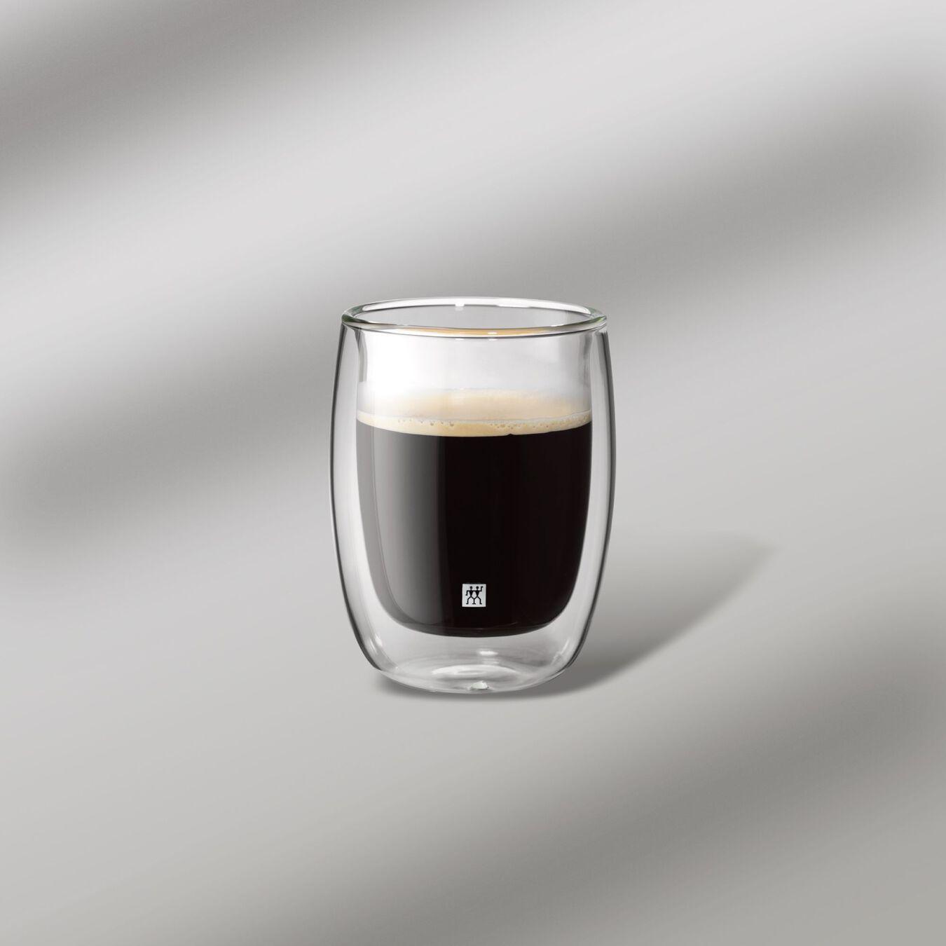 Dubbelwandig Koffieglazenset, 2-delig,,large 2