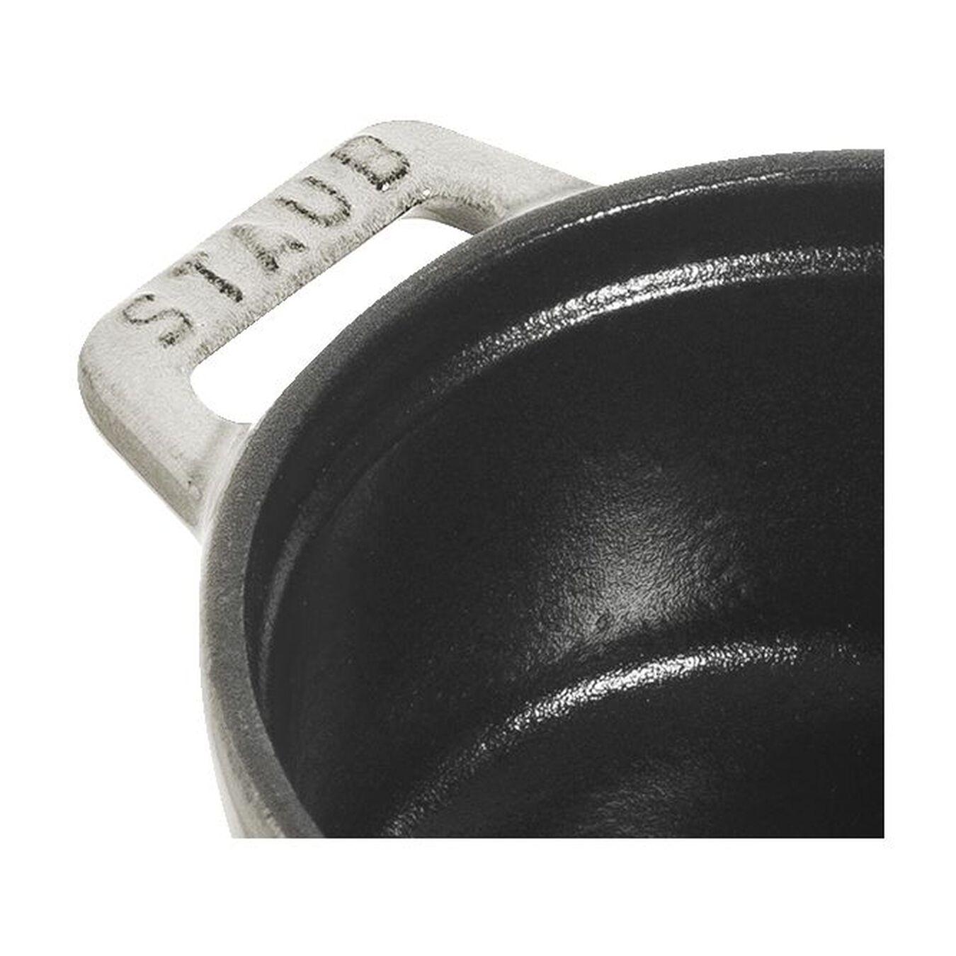 Mini Cocotte 10 cm, Rond(e), Truffe blanche, Fonte,,large 2
