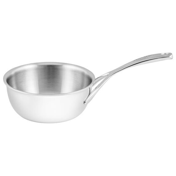 Sauteuse conical, 18 cm | round | Silver,,large