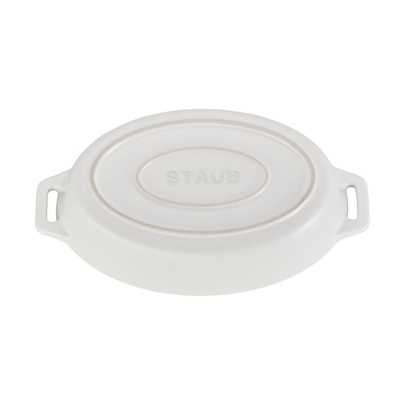 9-inch, oval, Oven dish, matte white,,large 3