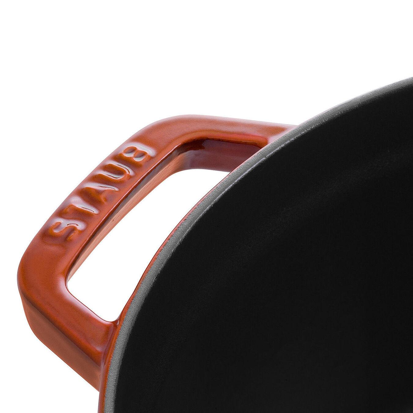 2.75-qt Round Cocotte - Burnt Orange,,large 3