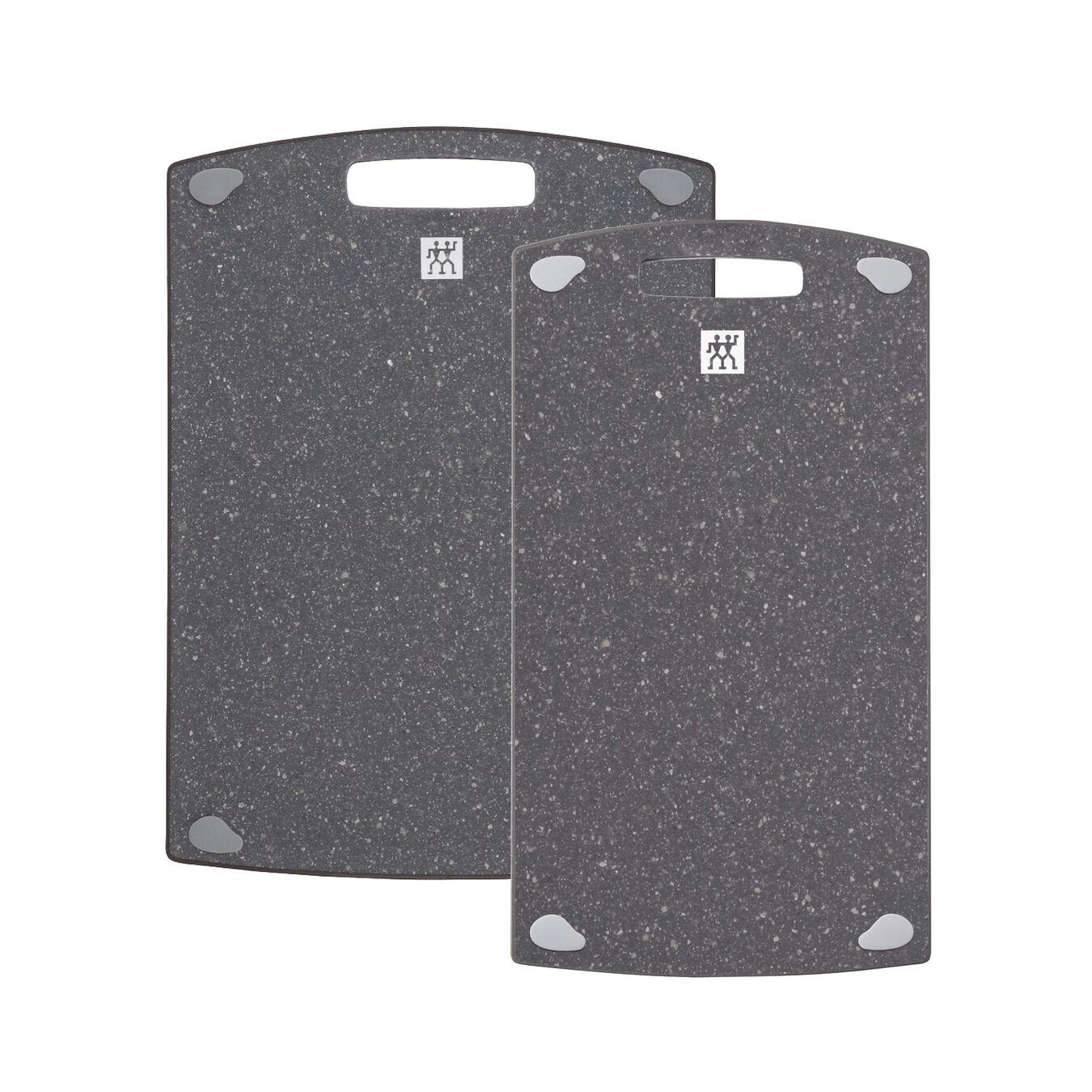 2 pc. Cutting board set, Plastic   36 cm x 20 cm & 37 cm x 27 cm 36 cm x 20 cm,,large 2