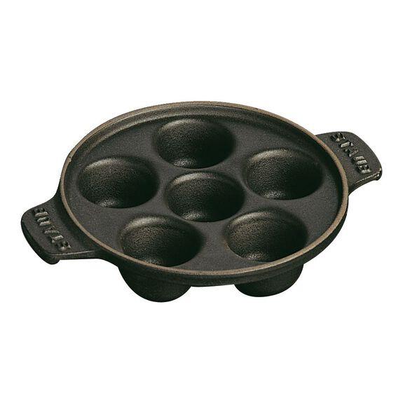 5.5-inch Cast iron Snail Dish,,large