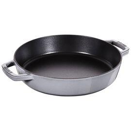 Staub Pans, Frigideira 26 cm, Ferro fundido, Cinza grafite