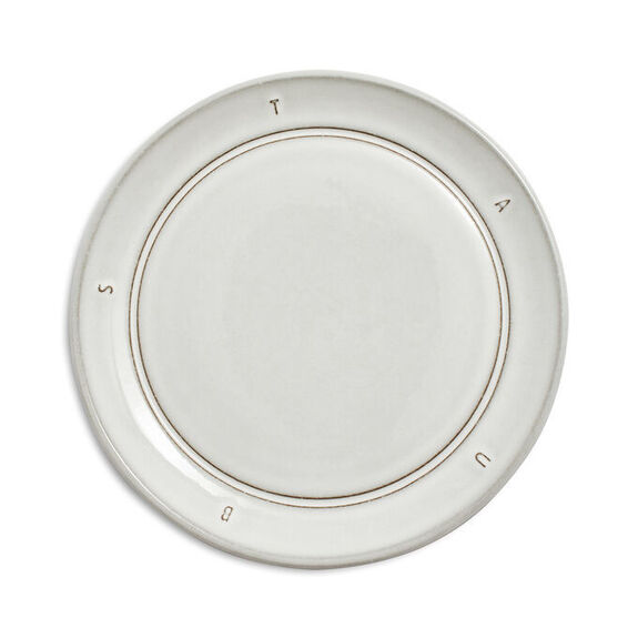 """6-inch Ceramic Appetizer Plate 15cm / 6"""" - Off White ,,large"""